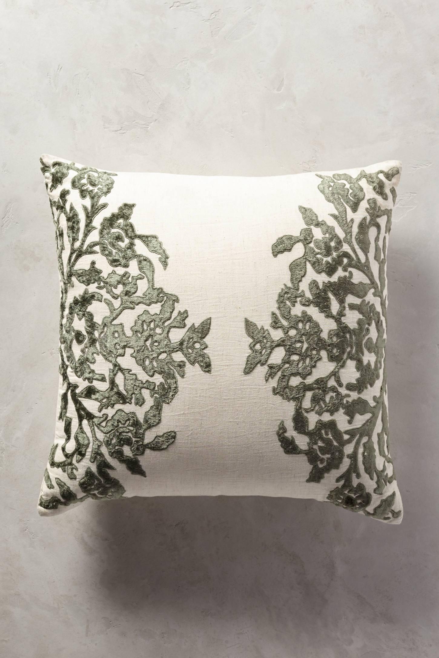 Vining Velvet Cushion