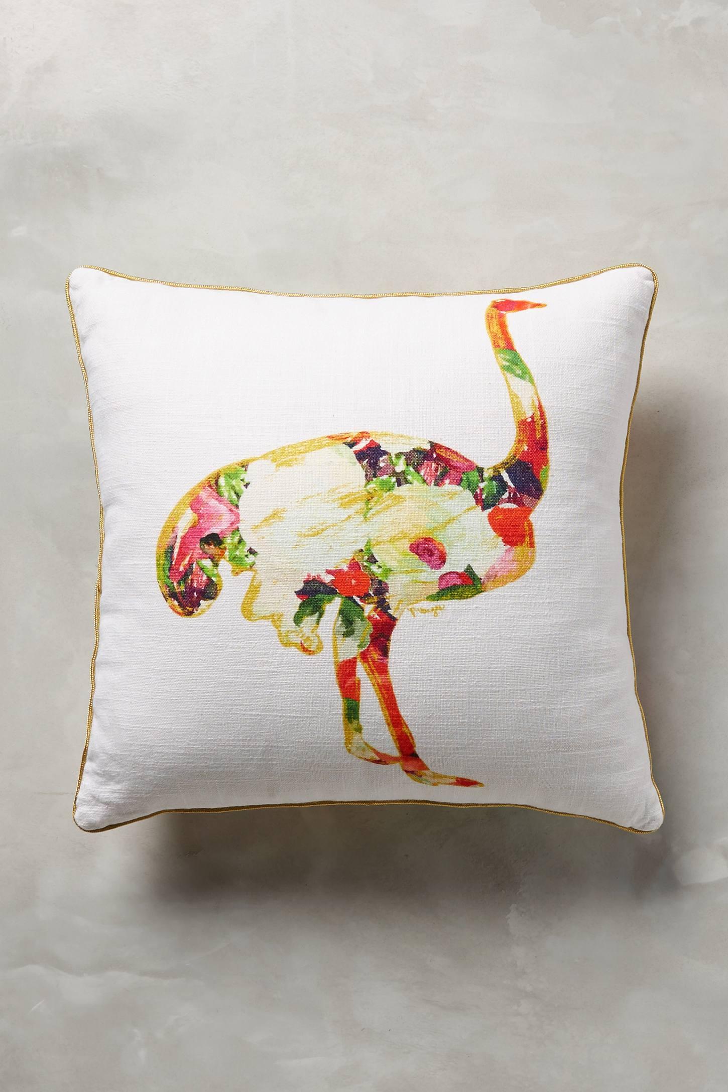 Collaged Fauna Cushion