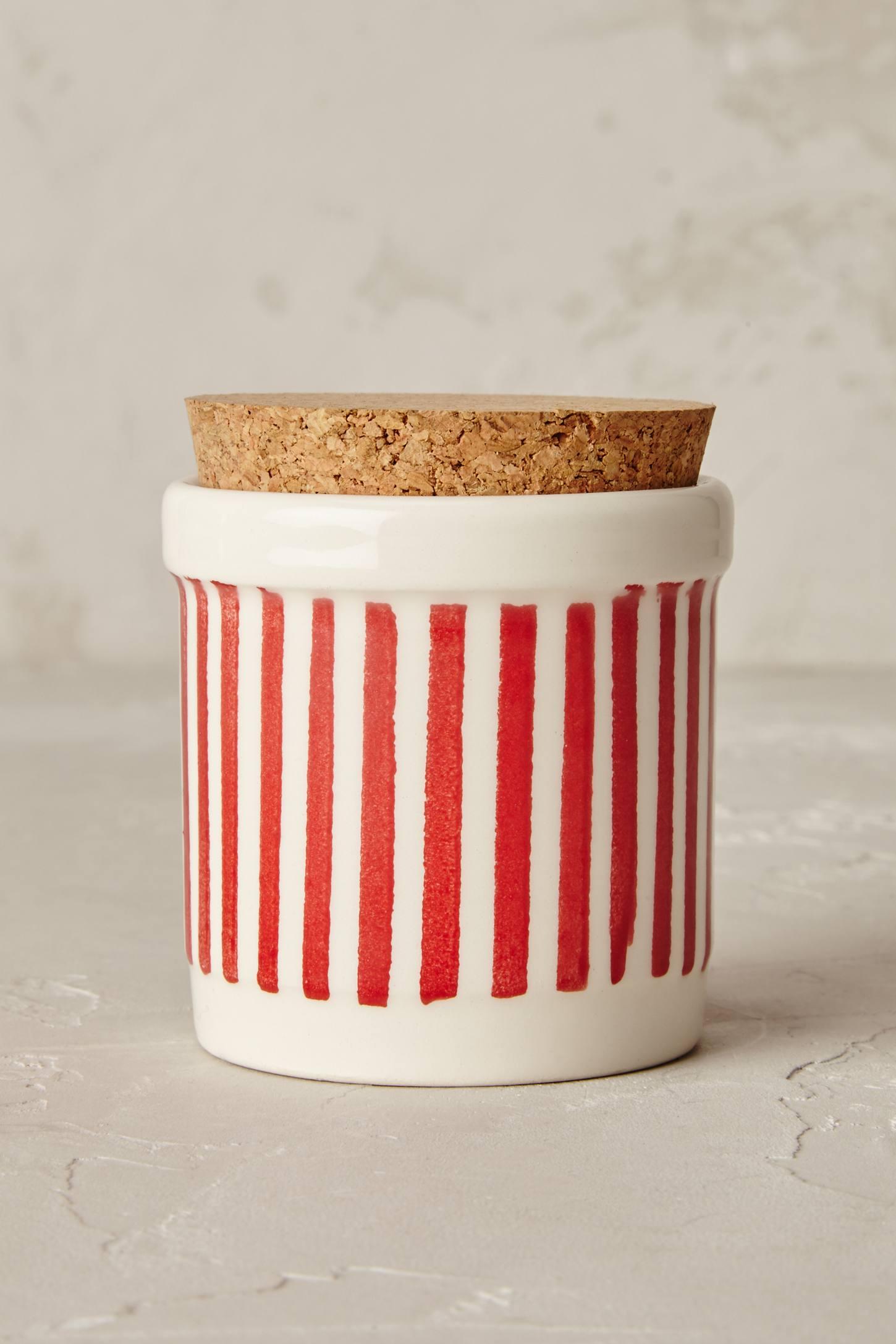 Painterly Spice Jar