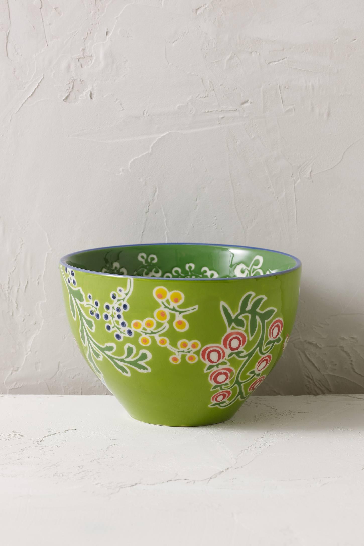Garden Floral Bowl