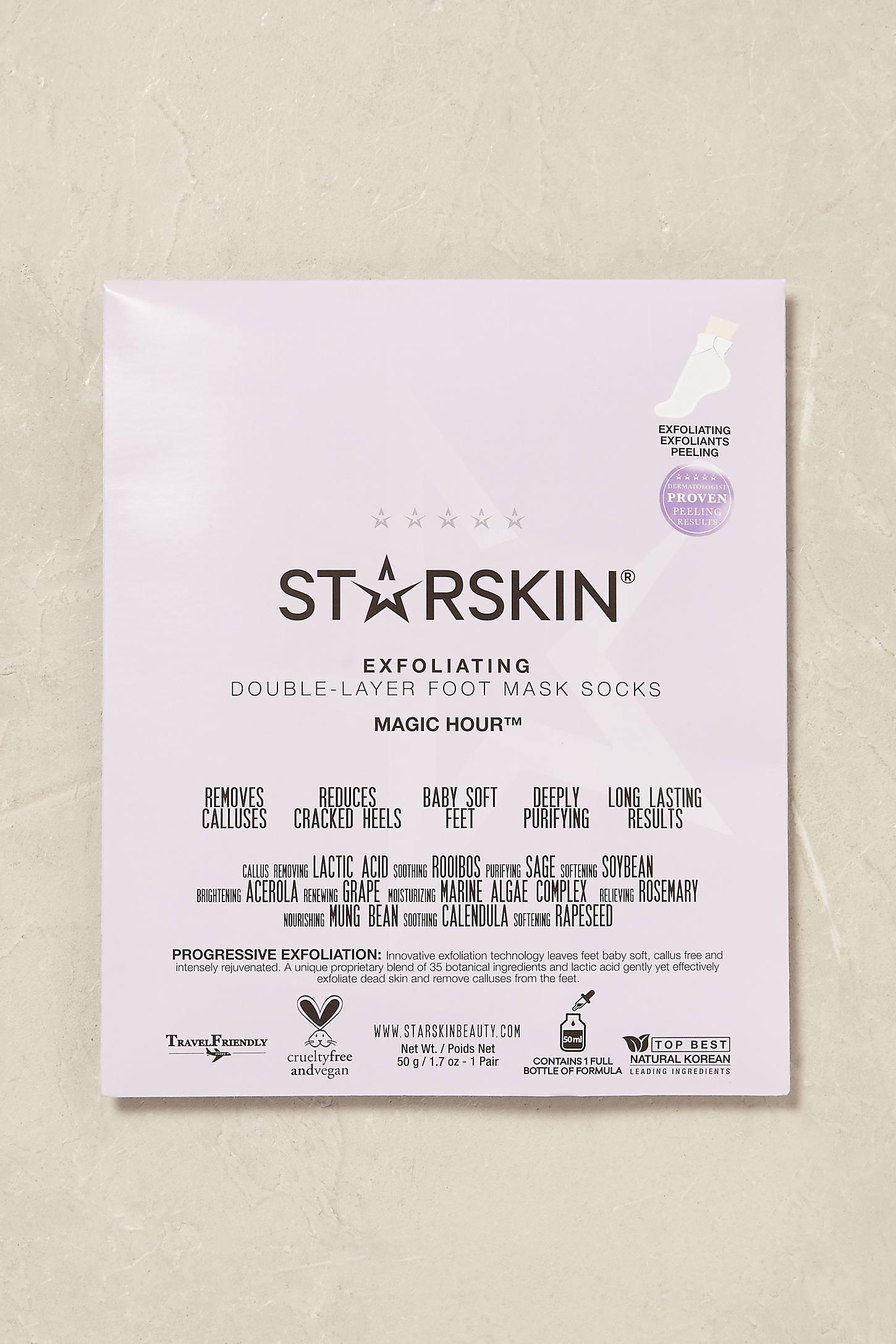 Starskin Foot Mask Socks
