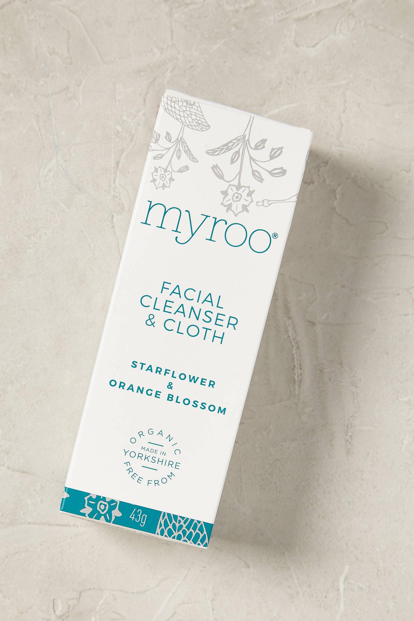 Myroo Facial Cleanser & Cloth
