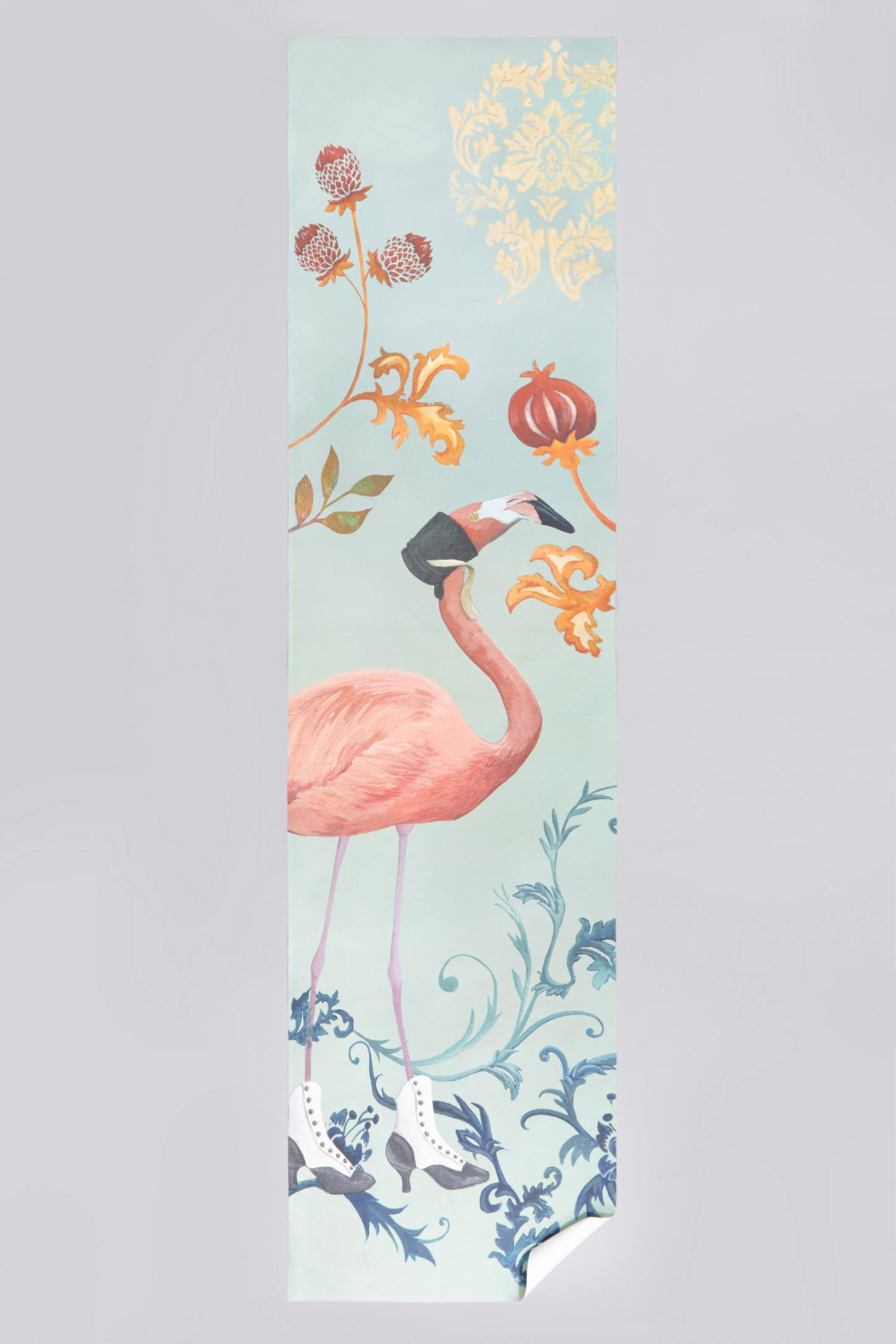 Baroque Bird Wall Panel