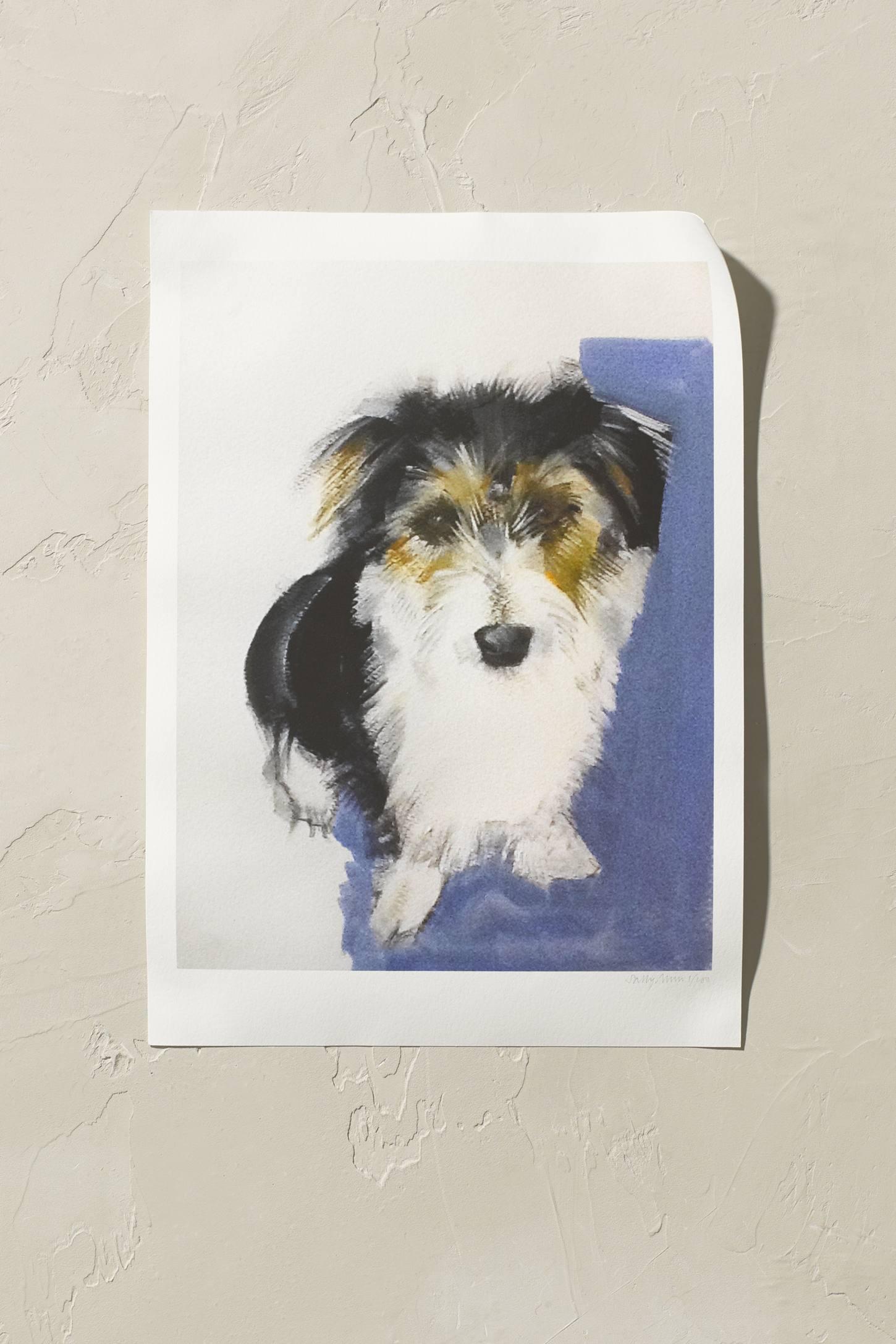 Sally Muir Terrier Wall Art