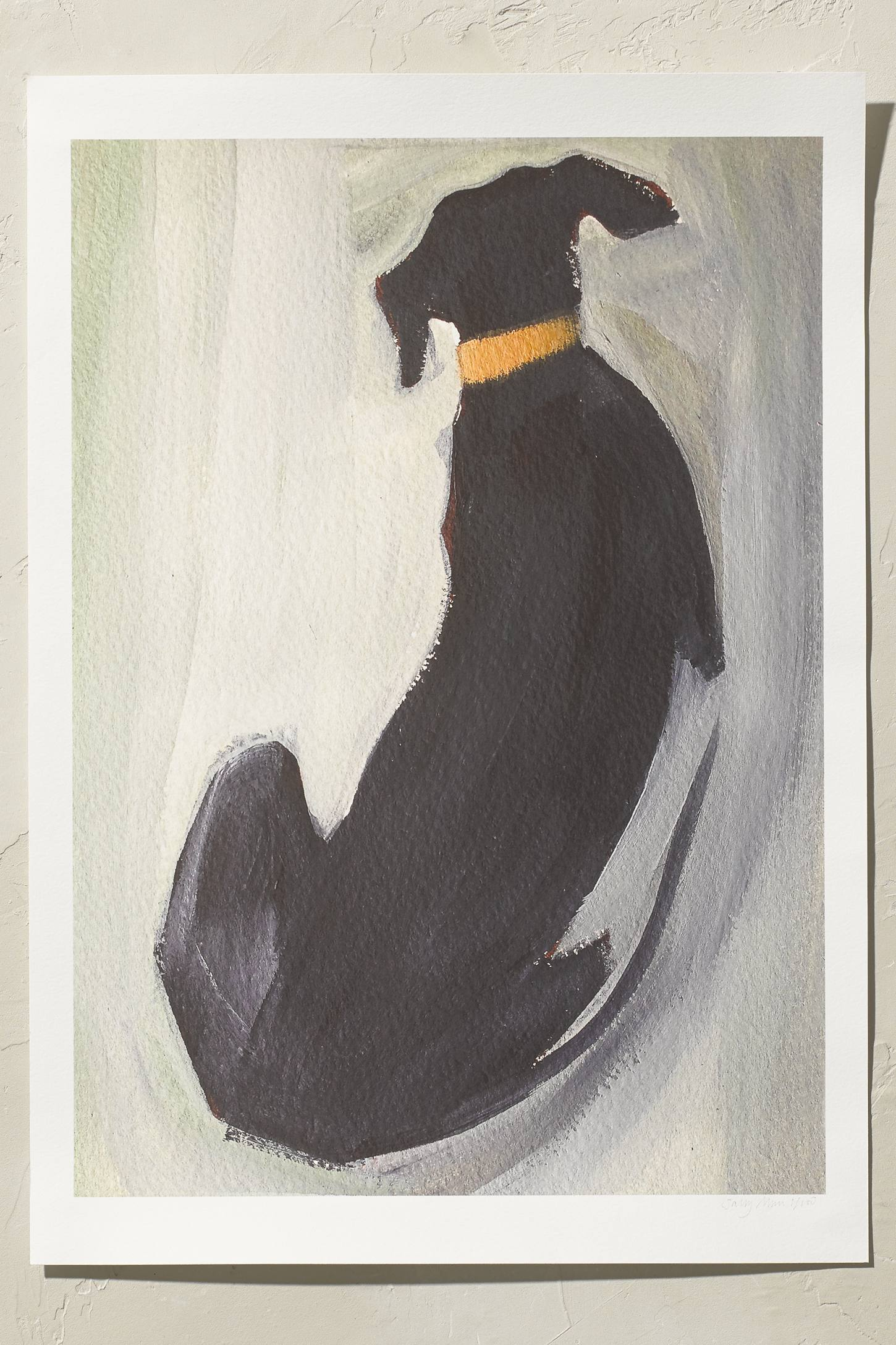 Sally Muir Hound Wall Art
