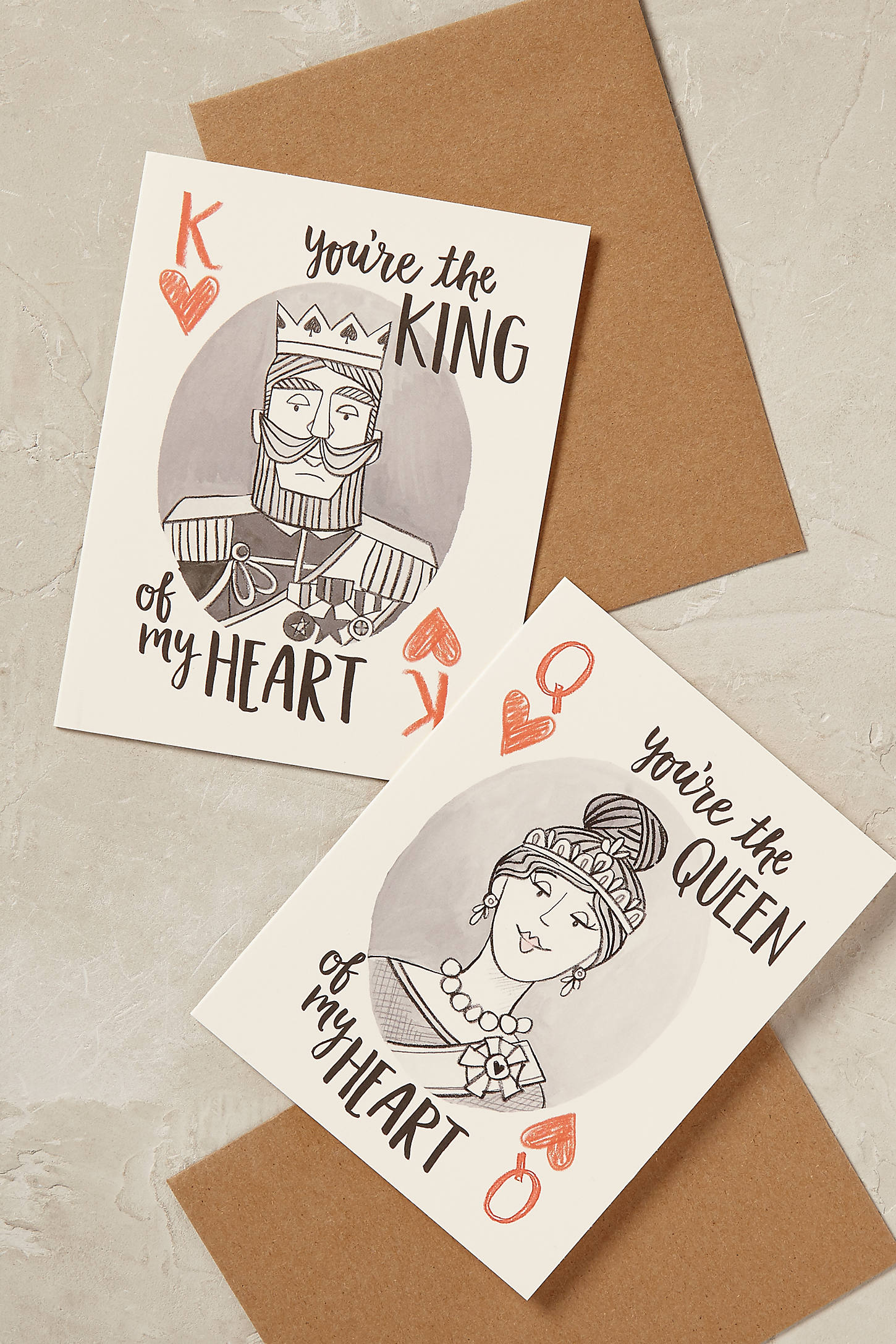 King of Hearts Valentine's Card