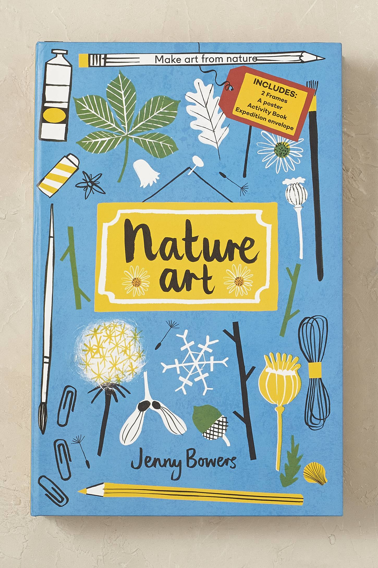 Nature Art Activity Book