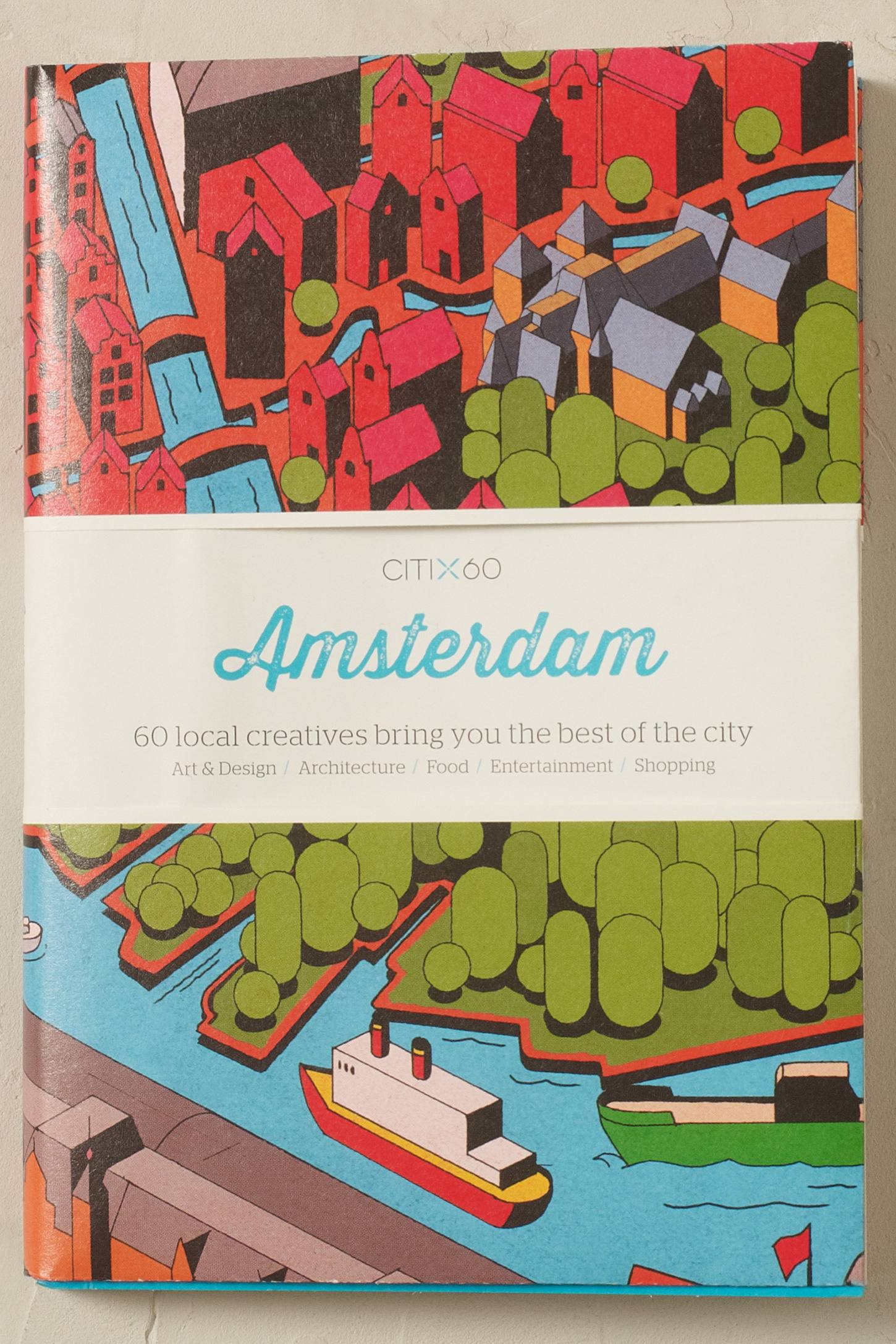 Citix60 Amsterdam Map
