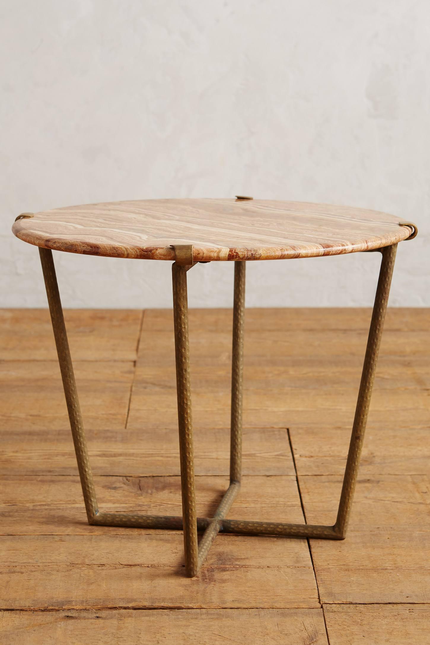 Slivered Boulder Table, Small