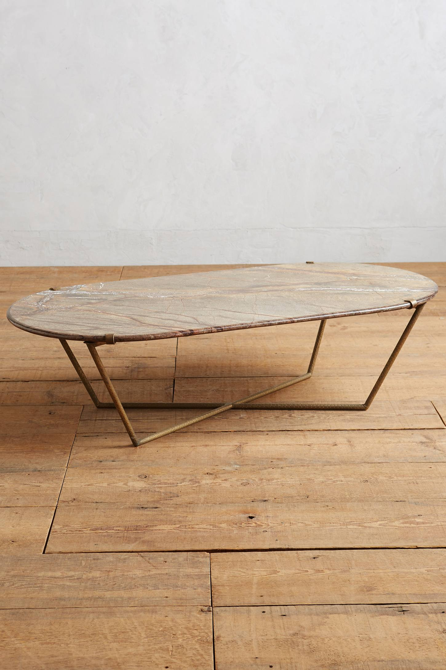 Slivered Boulder Table, Oval