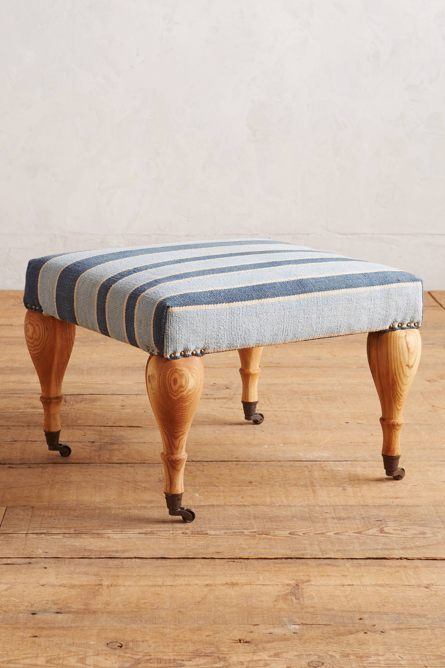 Cotton Dhurrie Small Trinette Ottoman