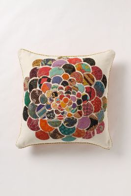 Orimono Pillow, Flower