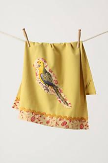 parrot dishtowel