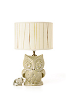 Tree Owl Lamp