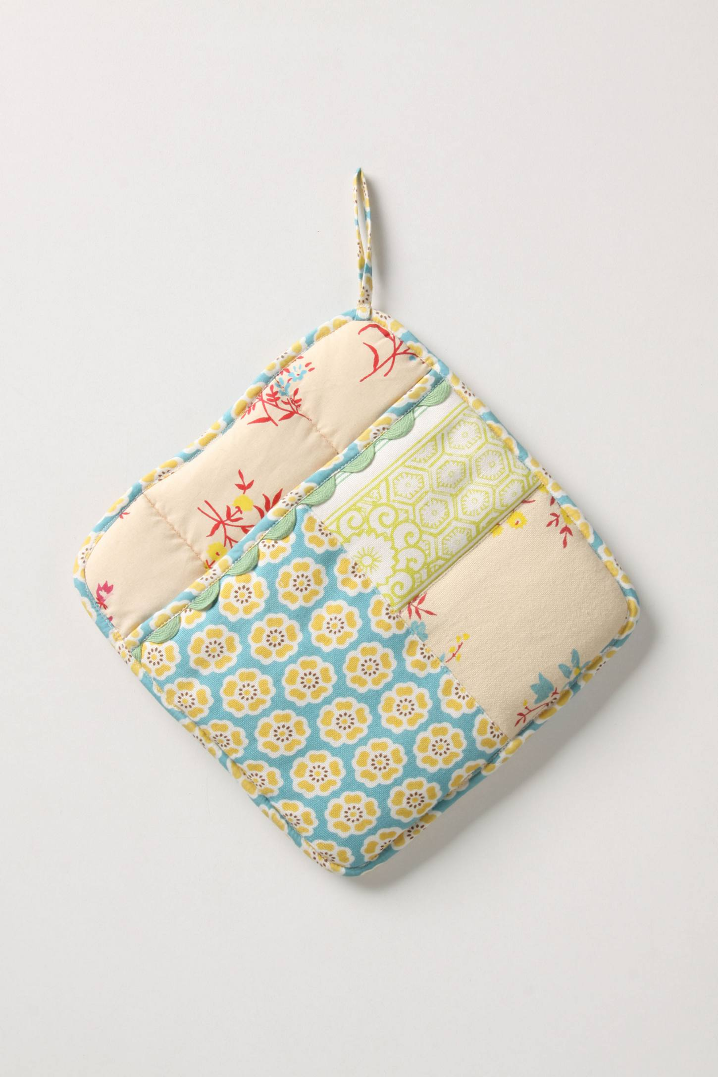 Sewing Basket Pot Holder