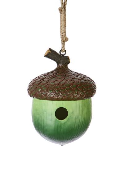 Acorn Sweet Acorn Birdhouse Anthropologie com from anthropologie.com