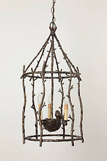 songbird chandelier