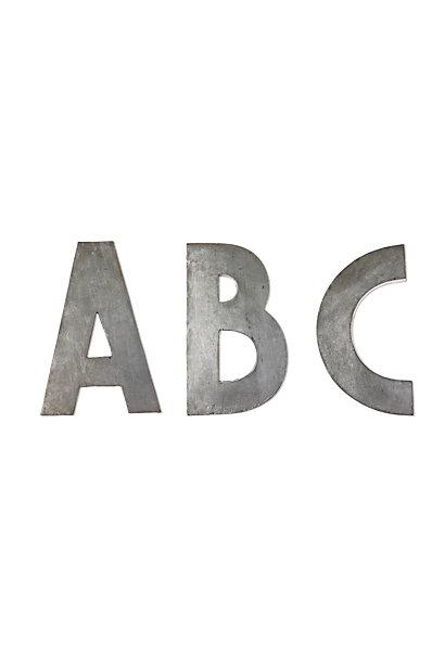 Sale alerts for Anthropologie Zinc Letters - Covvet