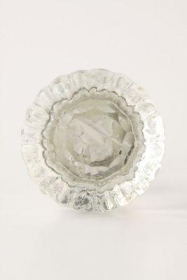 Notched Glass Knob