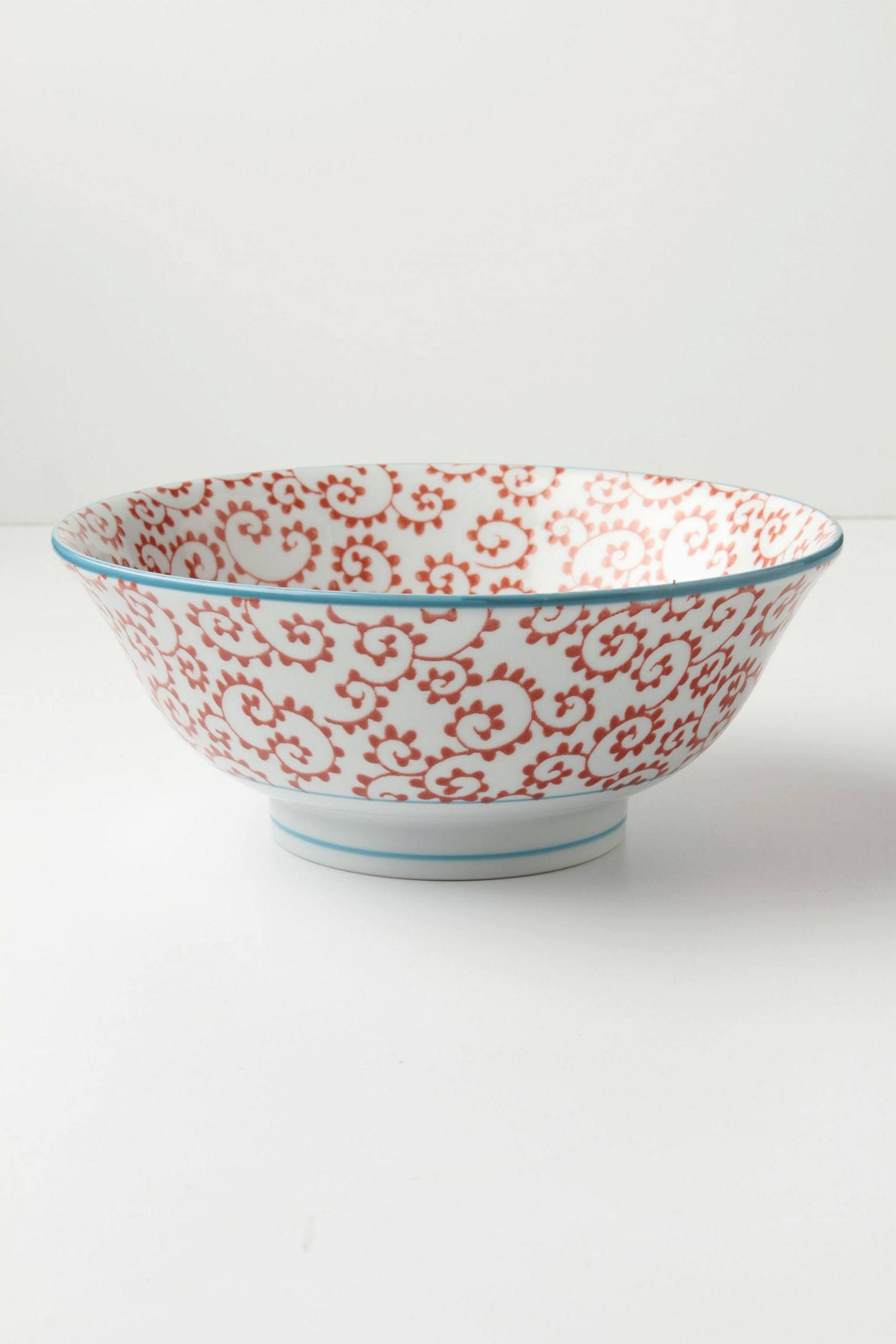 Inside Out Serving Bowl, Fern