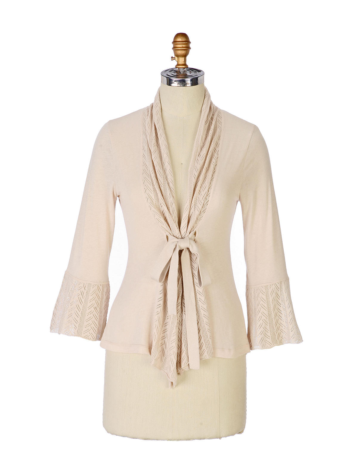 Acelin Cardi - Anthropologie.com :  romantic ivory bell sleeves anthropologie