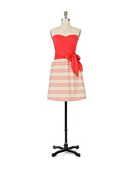 Hushed Hamlet Dress-Anthropologie.com :  striped anthropologie dress retro