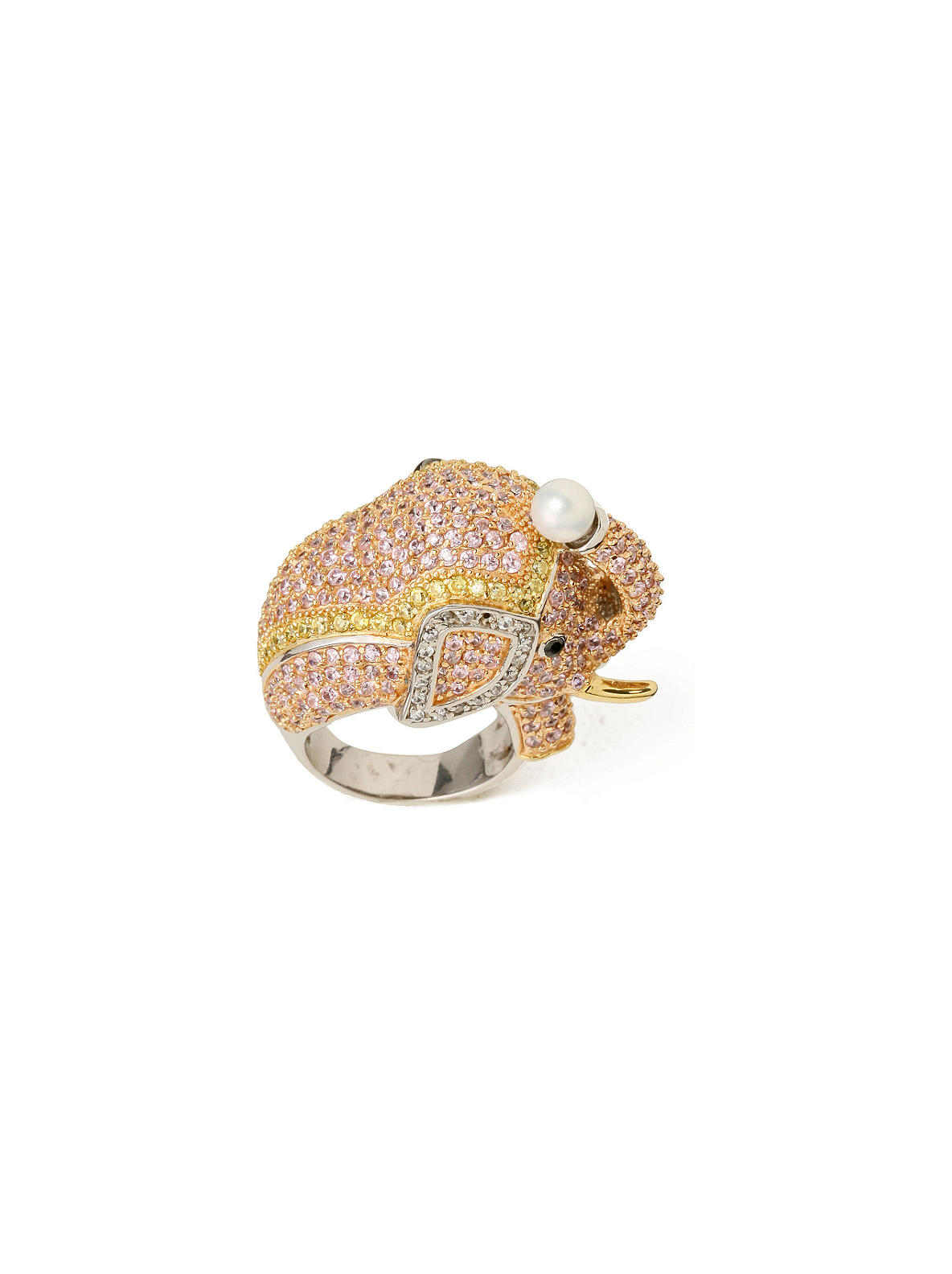 Jeweled Elephant Ring - Anthropologie.com from anthropologie.com