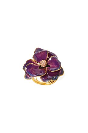 Gilded Posy Ring - Anthropologie.com from anthropologie.com