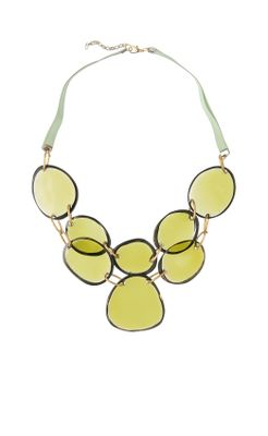 Stained Glass Necklace - Anthropologie.com :  glass accessories necklaces jewelry