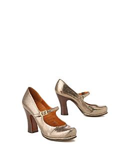 SHINY SHINY::Mihara Mary Janes :  designer shoes anthropologie on sale metallic shoes