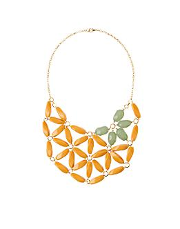 Anthropologie.com > Mustard & Sage Necklace :  necklace beads orange anthropologie