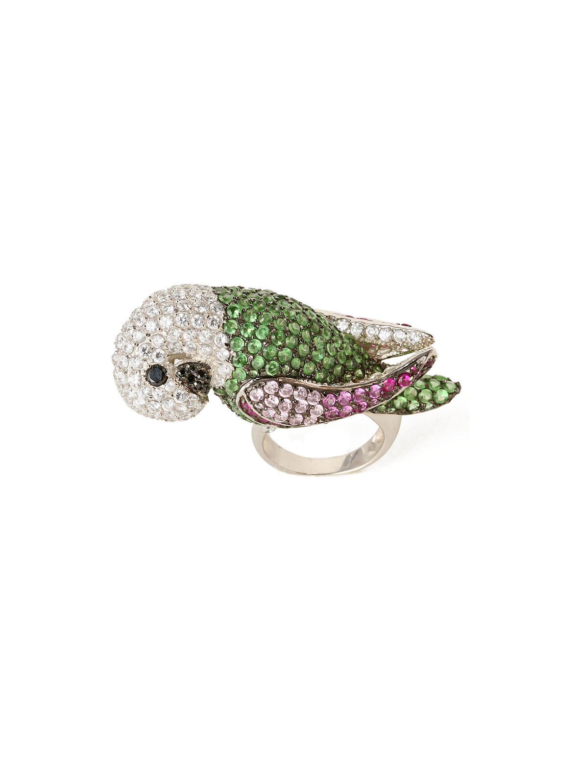 Jeweled Parrot Ring - Anthropologie.com :  jewel parrot jewelry ring