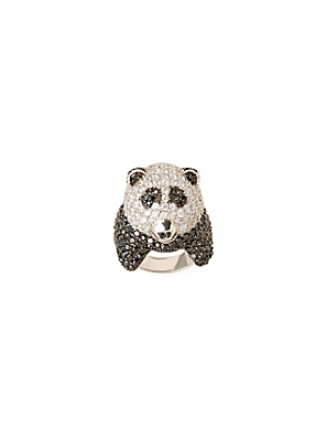 Giant Panda Ring - Anthropologie.com from anthropologie.com