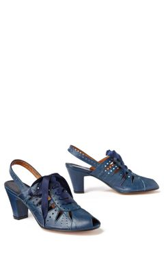 Victrola Slingbacks - Anthropologie.com :  midheel retro heels jazz