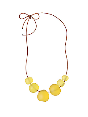 Lemon Curd Necklace - Anthropologie.com