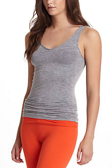 Heathered Reversible Seamless Tank