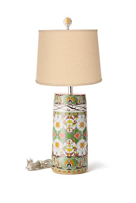 Orange Yuan Lamp