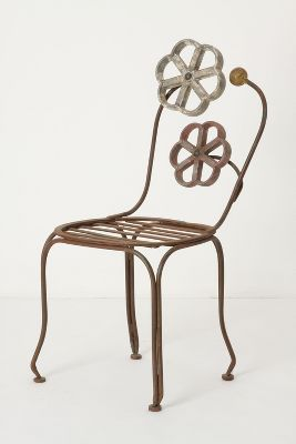 Blacksmith Blossom Chair-Anthropologie.com :  garden home accents home accessories decorative accessories