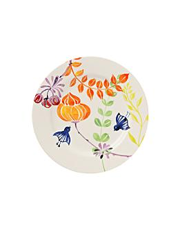 Far Afield Dinner plate: 10.5