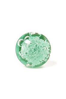 Bubbled Glass Knob