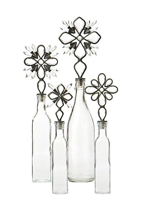 Aughra Bottles, Large snowflake - 19.25