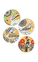 Golden Warbler Coasters