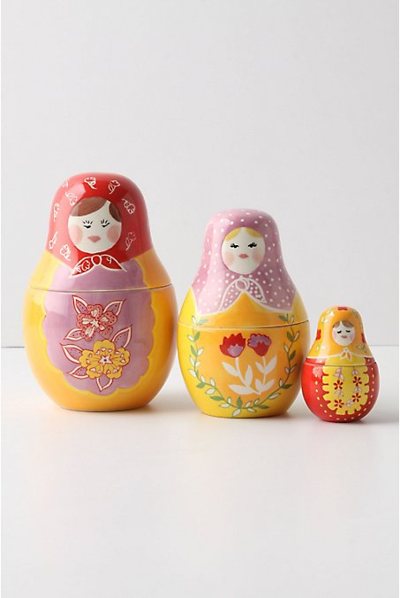 Matryoshka Measuring Cups - Anthropologie.com :  cookware measuring cups chef kitchen