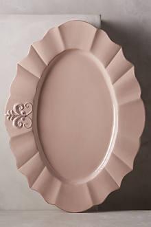Fleur De Lys Platter, Large