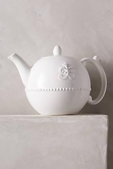 Fleur De Lys Teapot