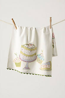 Deliciousness Dishtowel, Cake