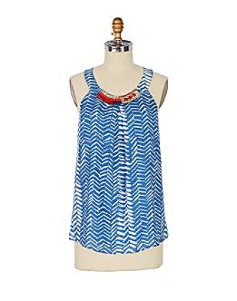 Bizuteria Tank - Anthropologie.com :  womens pattern beaded anthropologie