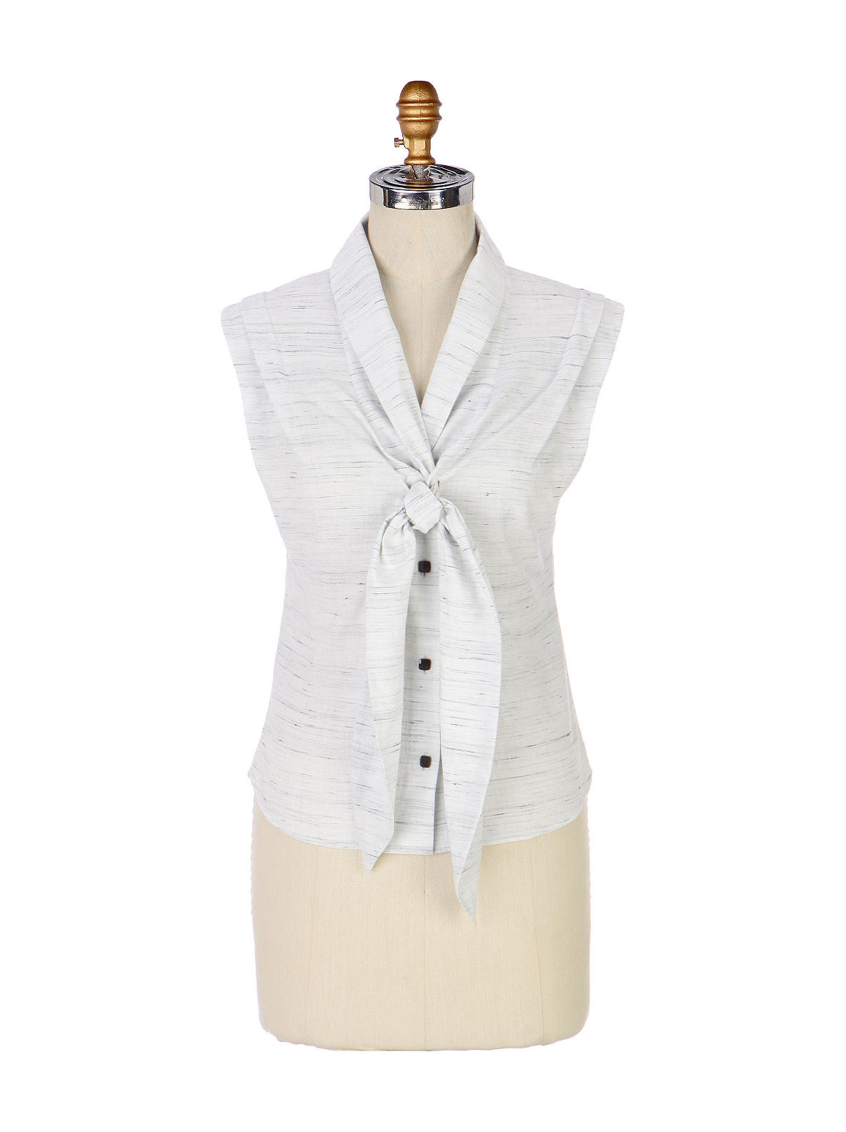 Bowtie Blouse - Anthropologie.com :  blouse anthropologie tie neck bowtie