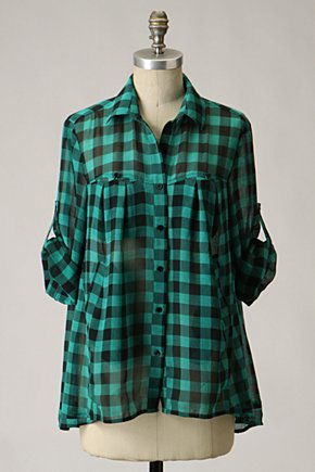 Banking Grounds Blouse - Anthropologie.com