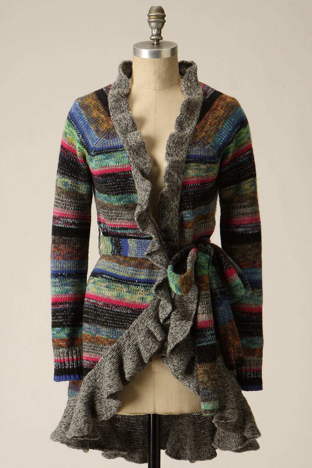Splash-Of-Color Cardi